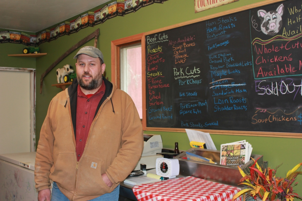 Mac Riemenschneider of R-Farm in Dousman, Wis., has been raising livestock since 1991.
